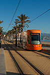 Tram train, San Juan beach Alicante, Spain
