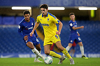 Will Nightingale of AFC Wimbledon in action during Chelsea Under-21 vs AFC Wimbledon, Checkatrade Trophy Football at Stamford Bridge on 4th December 2018