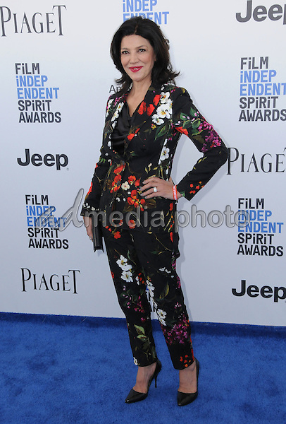 25 February 2017 - Santa Monica, California - Shohreh Aghdashloo. 2017 Film Independent Spirit Awards held held at the Santa Monica Pier. Photo Credit: Birdie Thompson/AdMedia