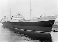 Schip Marivenus in de haven van Antwerpen.
