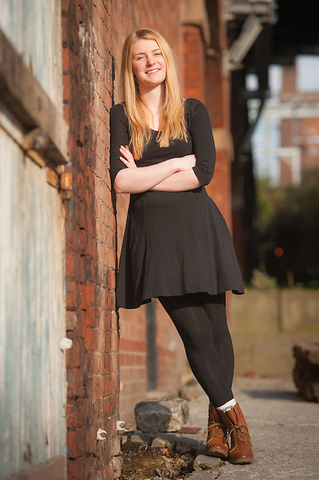 Portrait shoot with Eleanor Mottershead.