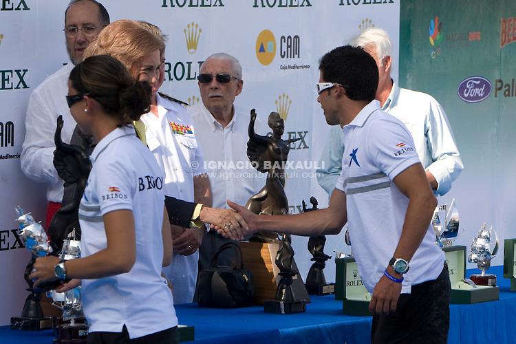 BRIBON-MOVISTAR.RCNB...ESP-25451...JOSÉ CUSÍ .XI TROFEO DE S.M. LA REINA.REGATA HOMENAJE A LA ARMADA ESPAÑOLA.XXII COPA ALMIRANTE MARCIAL SÁNCHEZ-BARCÁIZTEGUI.COPA ROLEX.Real Club Náutico de Valencia, 2 al 5 de Julio de 2009