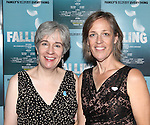 Playwright Deanna Jent and Director Lori Adams attending the Off-Broadway Opening Night Performance After Party for 'Falling' at Knickerbocker Bar & Grill on October 15, 2012 in New York City.