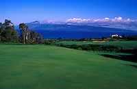 Hole No. 17 of the Kapalua Plantation golf course on Maui