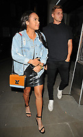 Heather Watson and Lloyd Glasspool at the Cantina Laredo new bar launch party, Cantina Laredo, Upper St Martin's Lane, London, England, UK, on Wednesday 11 October 2017.<br /> CAP/CAN<br /> &copy;CAN/Capital Pictures