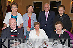 Club Ida, St Brendans Parish Active retired group who has their Christmas party in Ballygarry House Hotel on Tuesday, Front row, Bertie Conway, Mary O'Mahony and Peggy Diggins..Bernie Conway, Mary Martin, Nicky Comerford and Mary Comerford.