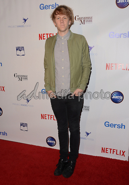 09 December - Beverly Hills, Ca - Josh Thomas. Arrivals for the Junior Hollywood Radio and Television Society's 13th Annual Holiday Party held at Greystone Manor. Photo Credit: Birdie Thompson/AdMedia