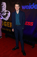 Christian Finlayson at the BIGGER World Premiere, Orleans Arena, Las Vegas, Nevada, USA, September 13th, 2018.<br /> CAP/ADM/MJT<br /> &copy; MJT/ADM/Capital Pictures
