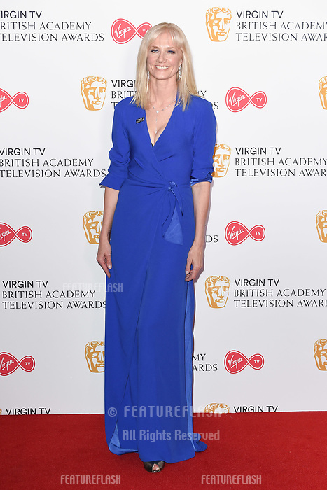Joely Richardson in the winners room for the BAFTA TV Awards 2018 at the Royal Festival Hall, London, UK. <br /> 13 May  2018<br /> Picture: Steve Vas/Featureflash/SilverHub 0208 004 5359 sales@silverhubmedia.com