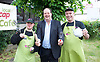 Stephen Hammond, Conservative candidate for Wimbledon and the former parliamentary under-secretary of State for Transport is on the general election campaign trail in Wimbledon today (Monday 15th May 2017). <br /> <br /> Visiting the Merton Mencap Caf&eacute;, open every Monday at Holy Trinity Church in The Broadway it offers a range of healthy home-made dishes &amp; is run by adults with a learning disability, supported by Merton Mencap staff and volunteers. <br /> <br /> Hammond who has an 11,408 majority (24.1%) met some of the workers who have learning disabilities including George Cary, Richard Dorris, Anna Caldicott and Neil Weddell. <br /> <br /> <br /> <br /> pictured L to R:<br /> George Cary ; Stephen Hammond ; Richard Dorris <br /> <br /> Photograph by Elliott Franks <br /> Image licensed to Elliott Franks Photography Services