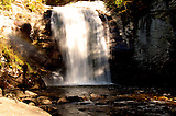 Looking Glass Falls and  Looking Glass Rock are icons of the Davidson River area, the Pisgah National Forest, and even Western North Carolina and the Appalachian Mountains.