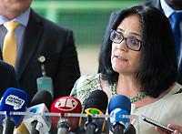 BRASILIA, DF, 06.12.2018 - DAMARES-CCBB-   Damares Alves, futura ministra dos Direitos Humanos, durante entrevista no CCBB, onde ocorre a transição do Governo, nesta quinta, 06.(Foto:Ed Ferreira / Brazil Photo Press)