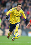 Arsenal's Mesut Ozil during the Premier League match at Selhurst Park, London. Picture date: 11th January 2020. Picture credit should read: Paul Terry/Sportimage