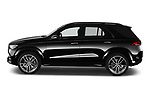Car driver side profile view of a 2020 Mercedes Benz GLE AMG-Line 5 Door SUV