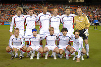 New England Revolution starting eleven. The New England Revolution defeated DC United 2-1, Saturday, October 7, 2006, at RFK Stadium.