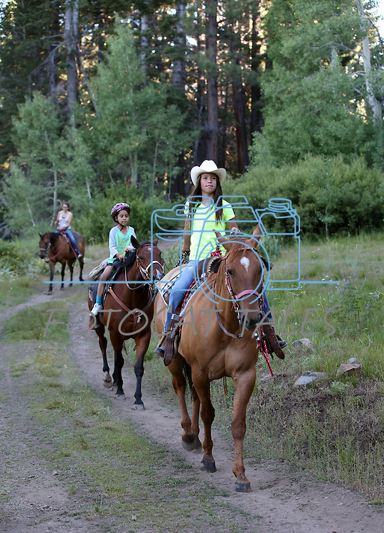 Images from a horseback ride near Scotts Lake in Alpine County, near Hope Valley, Ca. on July 9, 2013.<br /> Photo by Cathleen Allison