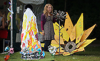 Pictured: Cindy Ward of Motor Mango with some of her creations Saturday 13 August 2016<br />