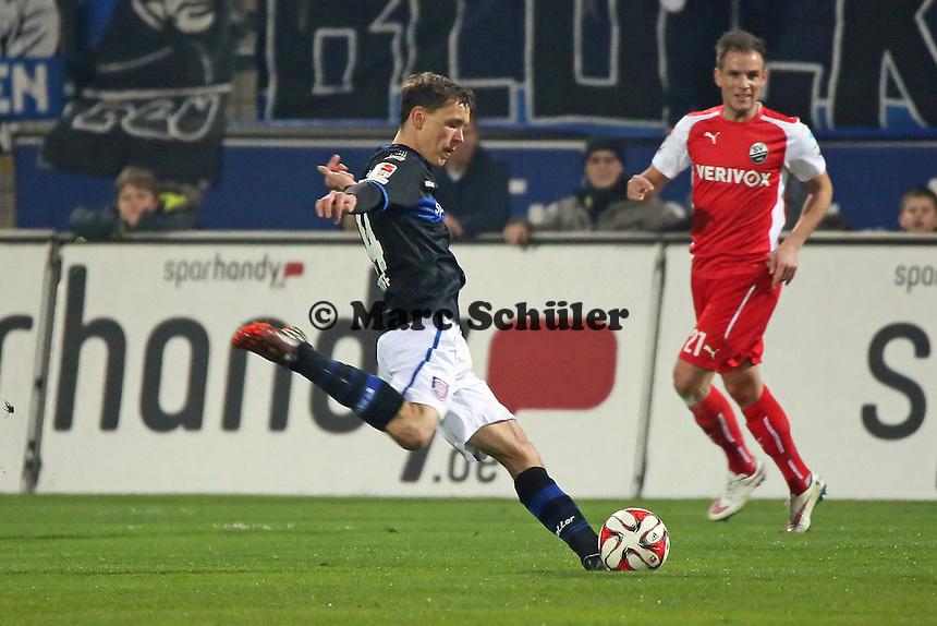 Alexander Bittroff (FSV) zieht ab - FSV Frankfurt vs. 1. FC Kaiserslautern, Frankfurter Volksbank Stadion