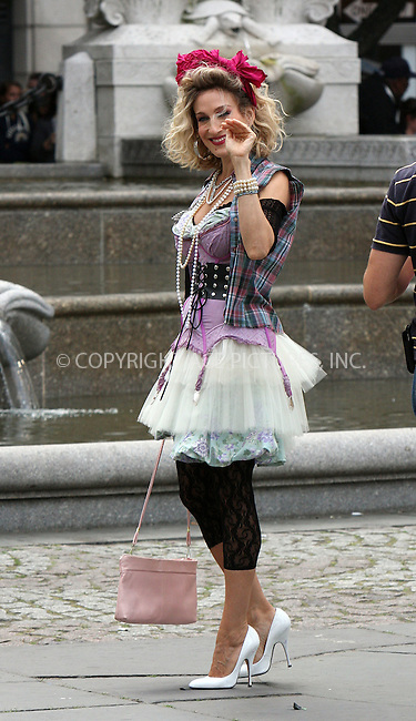 WWW.ACEPIXS.COM . . . . .  ....September 9 2009, New York City....Actress Sarah Jessica Parker on the set of the new 'Sex and the City' movie on September 9 2009 in New York City....Please byline: AJ Sokalner - ACEPIXS.COM..... *** ***..Ace Pictures, Inc:  ..tel: (212) 243 8787..e-mail: info@acepixs.com..web: http://www.acepixs.com