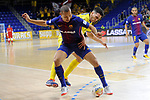 League LNFS 2017/2018 - Game 15.<br /> FC Barcelona Lassa vs Gran Canaria FS: 9-2.<br /> Ferrao vs Ivan Gonfaus.