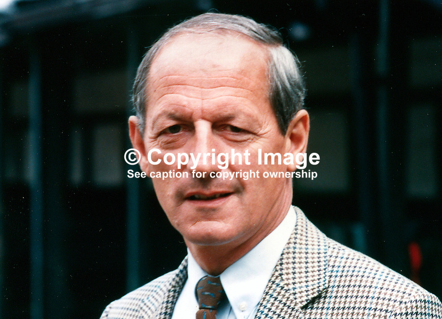 Colonel Ned Campion, chef d'equipe, Irish Showjumping Team, at RDS, Dublin, Rep of Ireland, 19890802/NC..Copyright Image from Victor Patterson, 54 Dorchester Park, Belfast, UK, BT9 6RJ..Tel: +44 28 9066 1296.Mob: +44 7802 353836.Voicemail +44 20 8816 7153.Skype: victorpattersonbelfast.Email: victorpatterson@mac.com.Email: victorpatterson@ireland.com (back-up)..IMPORTANT: If you wish to use this image or any other of my images please go to www.victorpatterson.com and click on the Terms & Conditions. Then contact me by email or phone with the reference number(s) of the image(s) concerned.