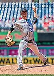 30 July 2017: Colorado Rockies pitcher Kyle Freeland on the mound against the Washington Nationals at Nationals Park in Washington, DC. The Rockies defeated the Nationals 10-6 in the second game of their 3-game weekend series. Mandatory Credit: Ed Wolfstein Photo *** RAW (NEF) Image File Available ***