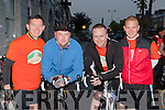 Francie Brosnan, David Carmody, William Flahive and Mikey O'Callaghan preparing to start the Cycle from Castleisland to Carrauntouhil the climb to the peak and cycle back to Castleisland in aid of the Jack and Jill foundation n saturday