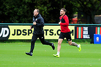 Aaron Ramsey of Wales during the Wales Training Session at The Vale Resort in Cardiff, Wales, UK. Saturday 12 October 2019