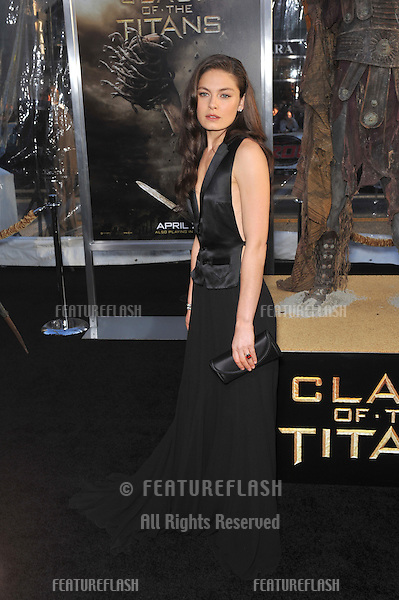"Alexa Davalos at the Los Angeles premiere of her new movie ""Clash of the Titans"" at Grauman's Chinese Theatre, Hollywood..March 31, 2010  Los Angeles, CA.Picture: Paul Smith / Featureflash"