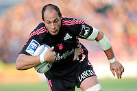 Sergio Parisse of Stade Francais in action during the Amlin Challenge Cup Final between Leinster Rugby and Stade Francais at the RDS Arena, Dublin on Friday 17th May 2013 (Photo by Rob Munro).