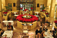 Christmas Decorations, Poinsettia Interior of the Biltmore Hotel