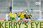 David Moran Kerry in action against Michael Murphy Donegal in Division One of the National Football League at Austin Stack Park Tralee on Sunday.