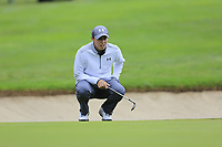 Matthew Fitzpatrick (ENG) on the 1st green during Saturday's Round 3 of the 2017 Omega European Masters held at Golf Club Crans-Sur-Sierre, Crans Montana, Switzerland. 9th September 2017.<br /> Picture: Eoin Clarke | Golffile<br /> <br /> <br /> All photos usage must carry mandatory copyright credit (&copy; Golffile | Eoin Clarke)