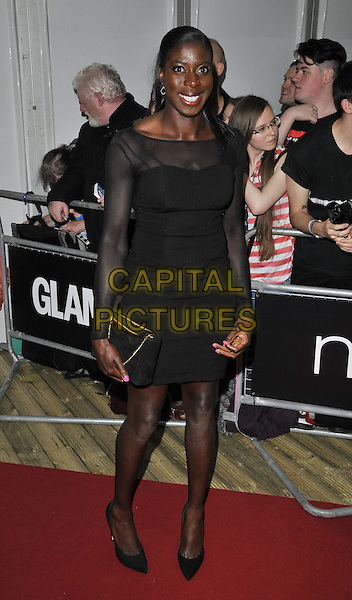 LONDON, ENGLAND - JUNE 03: Christine Ohuruogu attends the Glamour Women Of The Year Awards 2014, Berkeley Square Gardens, Berkeley Square, on Tuesday June 03, 2014 in London, England, UK.<br /> CAP/CAN<br /> &copy;Can Nguyen/Capital Pictures