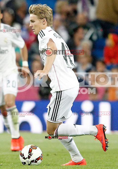 Real Madrid's Odegaard during La Liga match. May 23,2015. (ALTERPHOTOS/Acero) /NortePhoto.com
