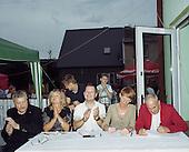 Boruja Koscielna 08.07.2016 Poland <br /> Jury of the wedding band competition.<br /> Photo: Michal Adamski / Napo Mentor<br /> <br /> Jury konkursu na najlepsza kapele weselna.<br /> Photo: Michal Adamski / Napo Mentor