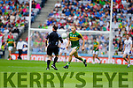 Peter Crowley, Kerry in action against  Kildare in the All Ireland Quarter Final at Croke Park on Sunday.