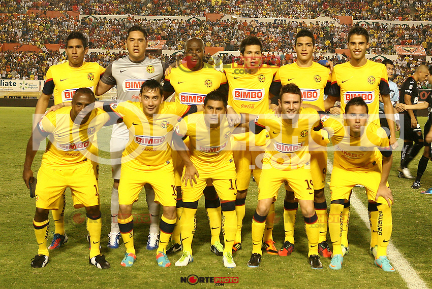 America de Chiapas,jornada 2 del torneo Clausura 2013 de la Liga MX en el estadio Victor Manuel Reyna.<br />  11/o17-2013Tuxtla Gutierrez,Mexico.