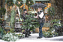 07/12/14<br /> <br /> Claire Foster at Green Pavilion Florists sells a christmas tree to Carol Thomas during blizzard conditions.<br /> Heavy snow falls in Buxton in the Derbyshire Peak District .<br /> <br /> ***ANY UK EDITORIAL PRINT USE WILL ATTRACT A MINIMUM FEE OF &pound;130. THIS IS STRICTLY A MINIMUM. USUAL SPACE-RATES WILL APPLY TO IMAGES THAT WOULD NORMALLY ATTRACT A HIGHER FEE . PRICE FOR WEB USE WILL BE NEGOTIATED SEPARATELY***<br /> <br /> <br /> All Rights Reserved - F Stop Press. www.fstoppress.com. Tel: +44 (0)1335 300098