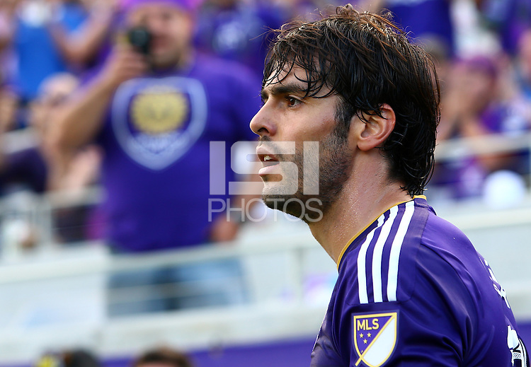 Orlando, Florida - Sunday, March 8 2015: Orlando City SC tied New York City FC 1-1 in a MLS match at the Citrus Bowl.