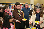 Easter Chicks at the Card Making Workshop in The Library...Photo NEWSFILE/Jenny Matthews.(Photo credit should read Jenny Matthews/NEWSFILE)....This Picture has been sent you under the condtions enclosed by:.Newsfile Ltd..The Studio,.Millmount Abbey,.Drogheda,.Co Meath..Ireland..Tel: +353(0)41-9871240.Fax: +353(0)41-9871260.GSM: +353(0)86-2500958.email: pictures@newsfile.ie.www.newsfile.ie.FTP: 193.120.102.198.