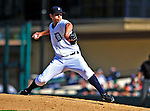 5 March 2009: Detroit Tigers' pitcher Casey Fien on the mound during a Spring Training game against the Washington Nationals at Joker Marchant Stadium in Lakeland, Florida. The Tigers defeated the visiting Nationals 10-2 in the Grapefruit League matchup. Mandatory Photo Credit: Ed Wolfstein Photo