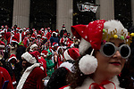 2017 Annual SantaCon in New York