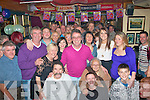 Noel(Geeshus)Greensmyth(centre)from Oakview,Tralee had a smashing time at his 50th birthday party last Saturday night in the Greyhound bar,Pembroke St,Tralee with all his family and many friends many who travelled from the Capital.