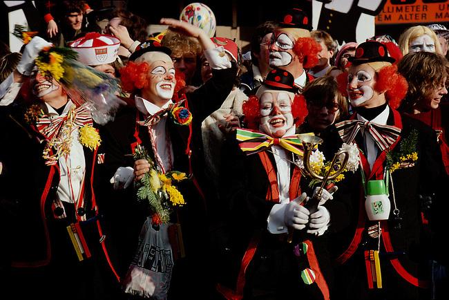 Mardi Gras Revelers, Cologne, Germany