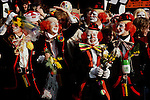Mardi Gras Revelers, Cologne, Germany