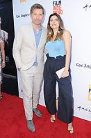 "17 June 2017 - Culver City, California - Nikolaj Coster-Waldau, Lake Bell. LA Film Festival Premiere of ""Shot Caller"" held at ArcLight Culver City in Culver City. Photo Credit: Birdie Thompson/AdMedia"