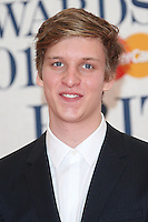 George Ezra arriving at The Brit Awards 2015 (Brits) held at the O2 - Arrivals, London. 25/02/2015 Picture by: James Smith / Featureflash