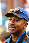 3 April 2006: Willie Randolph, Manager of the New York Mets, talks to the media prior to the Opening Day game against the Washington Nationals at Shea Stadium, in Flushing, New York. The Mets defeated the Nationals 3-2 to lead off the 2006 MLB season...Mandatory Photo Credit: Ed Wolfstein Photo..