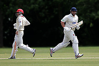 R Saunders and J Sorrell of Hornchurch CC (batting) vs Billericay CC, Shepherd Neame Essex League Cricket at Harrow Lodge Park on 8th June 2019